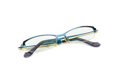 Eyeglasses isolated on white Background. Royalty Free Stock Photos