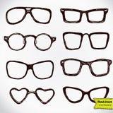 Eyeglasses isolated on white Stock Images
