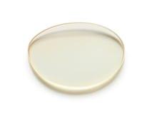 Eyeglasses lens. Isolated on white background Royalty Free Stock Photo