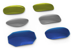 Eyeglasses lenses Stock Photography