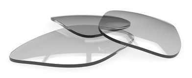 Eyeglasses lenses Royalty Free Stock Images