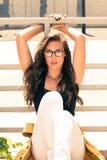 Eyeglasses moda zdjęcia stock