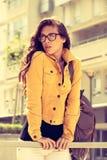 Eyeglasses moda obrazy stock