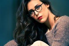 Eyeglasses moda obrazy royalty free