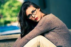 Eyeglasses moda zdjęcie royalty free