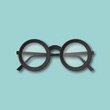 Eyeglasses odosobniona wektorowa ilustracja Obraz Stock