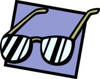 Free Eyeglasses Or Sunglasses Vector Illustration Royalty Free Stock Image - 2590986