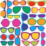 Eyeglasses Pattern Royalty Free Stock Image