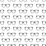 Eyeglasses pattern seamless Royalty Free Stock Photography