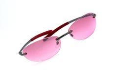 eyeglasses pink 免版税图库摄影