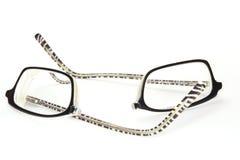 Eyeglasses quebrados Fotos de Stock