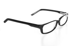 Eyeglasses with reflection Royalty Free Stock Photography