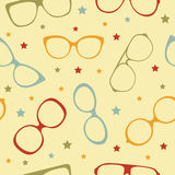 Eyeglasses seamless pattern Royalty Free Stock Images
