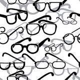 Eyeglasses seamless Royalty Free Stock Photos
