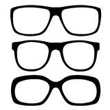 Eyeglasses set Royalty Free Stock Photo