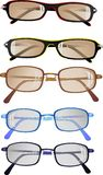 Eyeglasses or sunglasses, ready to wear Stock Image