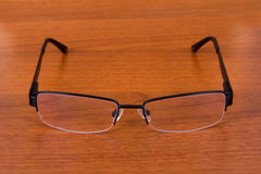 Eyeglasses on Table Stock Photos