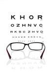 eyeglasses target186_1_ Zdjęcia Royalty Free