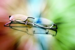 Eyeglasses To See Colors Royalty Free Stock Photos