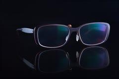Eyeglasses ulepszać wzrok Zdjęcie Royalty Free