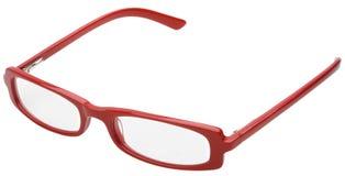 Eyeglasses vermelhos Imagem de Stock