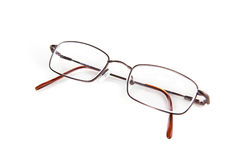 Eyeglasses on White Royalty Free Stock Images