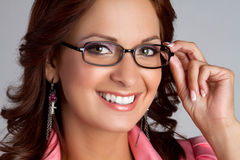 Eyeglasses Woman Stock Image