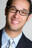Eyeglasss Man Stock Photo