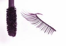 eyelash ψεύτικο mascara Στοκ Εικόνες