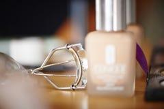 Eyelash curler device Stock Photos
