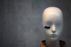 Eyelash. Mannequin. Stock Photos