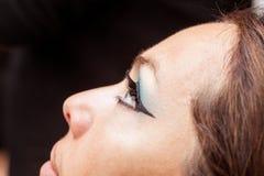 eyelashes ψεύτικη γυναίκα Στοκ εικόνα με δικαίωμα ελεύθερης χρήσης