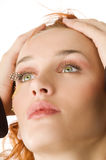 Eyelashes Stock Photo