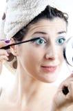 Eyelashes lengther Stock Photo