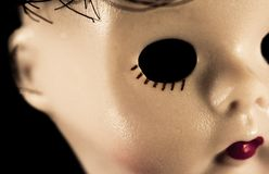 Eyeless Doll Royalty Free Stock Image