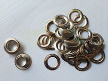 Eyelets Royalty Free Stock Photography