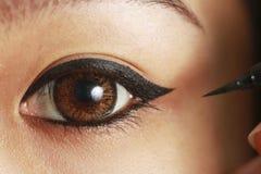 Eyeliner Fotografia Stock