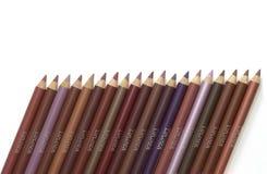 Eyeliner & lipliner fotografia stock