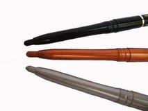 Eyeliner-Bleistifte Lizenzfreie Stockbilder