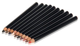 Eyeliner pencils Royalty Free Stock Images
