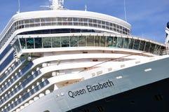 Eyelinerbro för drottning Elizabeth Royaltyfri Bild