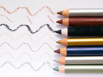 Eyeliners 4 Stock Photos