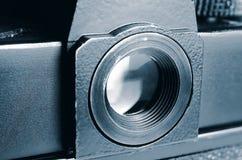 Eyepiece stara ekranowa kamera zdjęcie royalty free