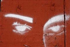 eyes белизна Стоковое Изображение RF