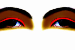 eyes вычурное стоковое фото