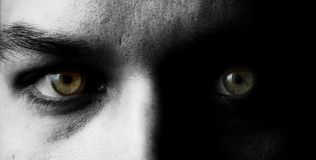 eyes гуманность Стоковые Фотографии RF