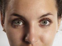 eyes девушка Стоковое фото RF