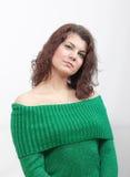 eyes зеленый цвет девушки Стоковое Фото