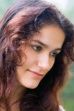 eyes зеленый цвет девушки Стоковая Фотография