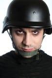 eyes красное solider Стоковая Фотография